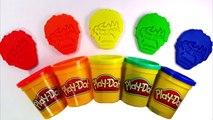 Superhero Hulk Play-Doh Bottles Finger Family Nursery Rhymes Learn Colors Modelling Clay For Kids