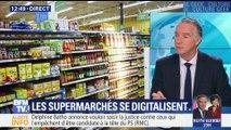Les rayons des supermarchés se digitalisent