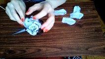 Coffee filter roses . How to make roses easily . DIY roses decoration