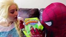 #4Frozen Elsa SUPER WUBBLE BUBBLE w  Spiderman Joker Maleficent Spidergirl Fun Superhero in real   Superheroes   Spiderman   Superman   Frozen Elsa   Joker