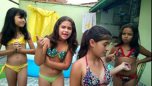 Desafio da Piscina com as amigas new - video dailymotion
