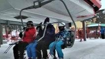 Cıbıltepe Kayak Merkezi'nde sömestir yoğunluğu - KARS