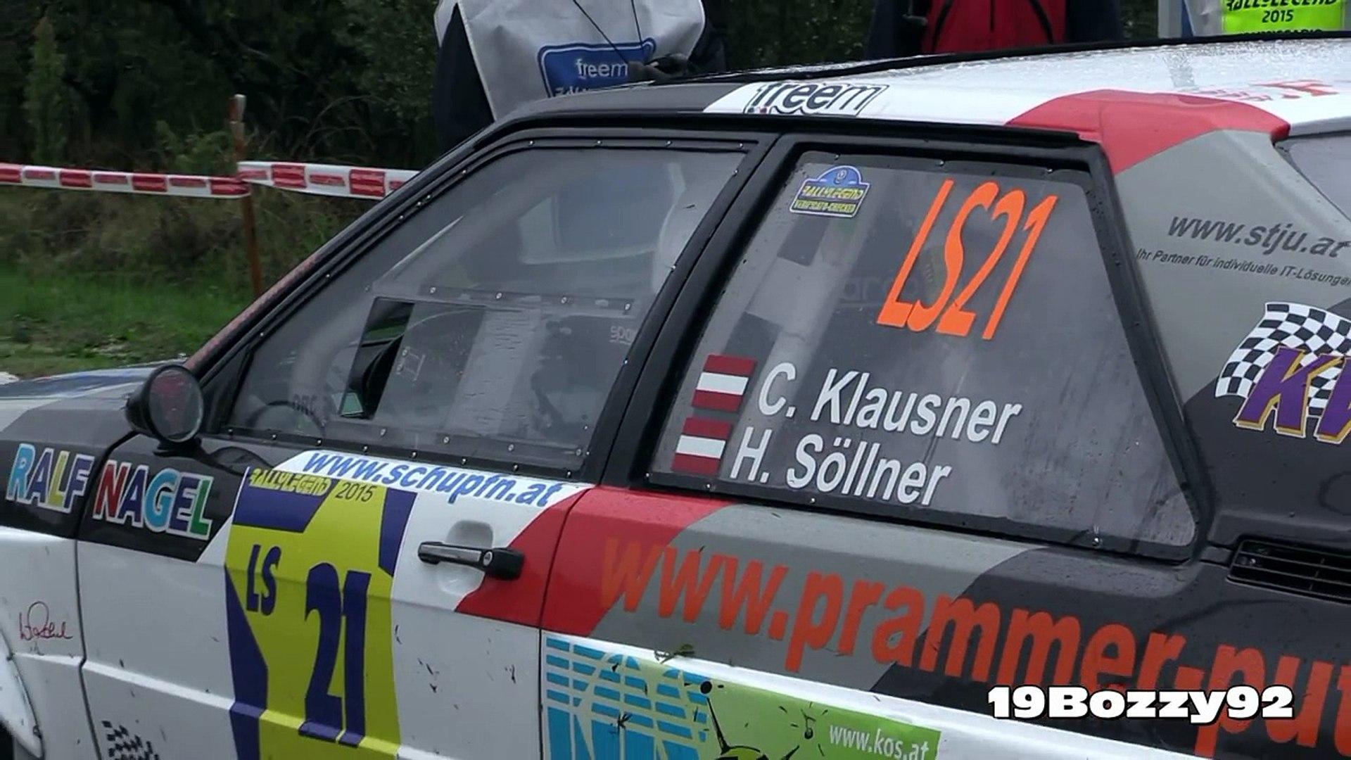 Audi Quattro Sound & Flames - Christof Klausner Show at Rally Legend