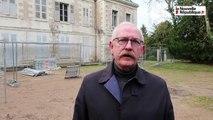 VIDEO. Joué-lès-Tours : travaux en cours au château des Bretonnières