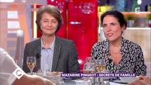 Charlotte Rampling et Mazarine Pingeot au dîner - C à Vous - 19/01/2018