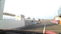 Akrapovic - Porsche GT3 avec Olivier PANIS - Le Mans Bugatti - Dijon Auto Racing