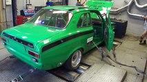 Ford Escort Mk1 + Lotus TwinCam engine - Dyno Run at Beek Auto Racing
