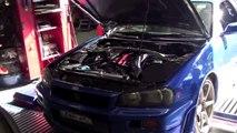 CRD GTR R34 360kW Race Car dyno tune for Bathurst