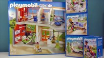 Playmobil 6657 Furnished Childrens Hospital with Floor Extension ♡ LITTLE STORY TOY WONDERS