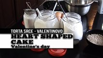 Valentinovo - Srce torta [Valentines Day - heart shaped cake]