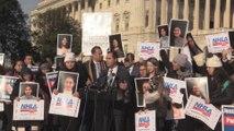 """Líderes latinos abogan por una solución inmediata para los """"soñadores"""" en EEUU"""