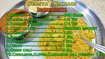 Semiya Kichadi   Coconut Chutney   Spicy(kara) Chutney   Dinner Menu - 2