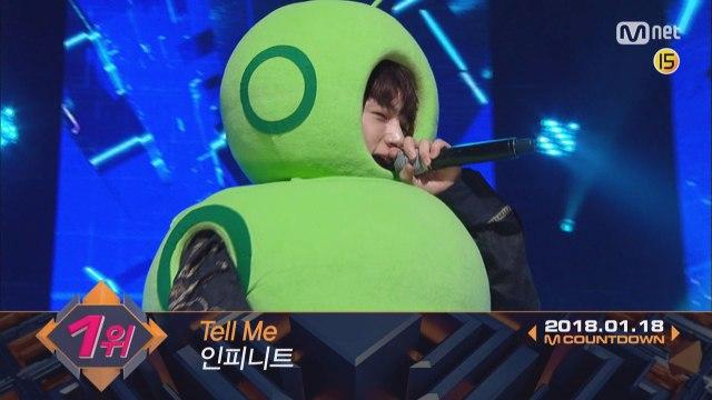 1월 셋째 주 1위 ′인피니트′의 ′Tell Me′ 앵콜 무대! (Full ver.)