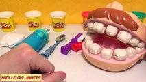 Pâte à Modeler Play Doh le Dentiste Fabrication et Soin de Dents Jouet pour enfants en français