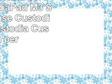 avidet Custodia per Huawei MediaPad M3 SlimBook Case Custodia Cover Custodia Custodia per