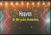 Bryan Adams Heaven Karaoke Version