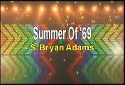 Bryan Adams Summer Of 69 Karaoke Version