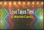 Mariah Carey Love Takes Time Karaoke Version