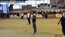 Coupe de France des Clubs à Romans : Cindy PEYROT vs Angélique ZANDRINI