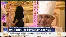 """Mort de Paul Bocuse: """"On a perdu notre dieu"""", dit le président des toques lyonnaises"""
