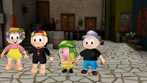Chaves Peppa pig Turma da Monica disco voador chaves seu madruga seu barriga em portugues