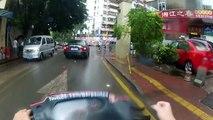 Scooter Diaries - Wan Ke Cheng (Wanker city?)