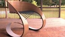 Incredibly creative furniture Design - Original chairs in a modern interior - 2018