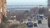 Kilis Öso Askerleri, Silah ve Mühimmat Yüklü Araçlarla Afrin'e Geçti