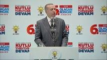 Uşak -Cumhurbaşkanı Erdoğan, Partisinin Uşak 6. Olağan İl Kongresinde Konuştu -7