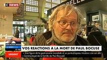 """Disparition de Paul Bocuse: L'émotion des Français en apprenant la disparition de """"Mr Paul"""","""