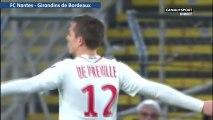 0-1 Nicolas de Préville Goal  - FC Nantes 0-1  Girondins de Bordeaux - 20.01.2018 (Full Replay)