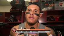 Manny Machado on incident against Red Sox