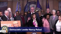 Nancy Pelosi Lashes Out At Trump: 'A Big Fat Failure F' For The First Year