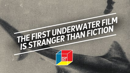 """The first under water film is stranger than fiction: """"The Terrors of the Deep"""""""