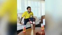 Dani Alves devient complètement fou sur le but de Neymar contre le Mexique