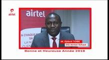 Découvrez le discours de fin d'année du Directeur Général d'Airtel Tchad qui souhaite de bonnes fêtes de fin d'année et les meilleurs voeux pour 2018 à tous les