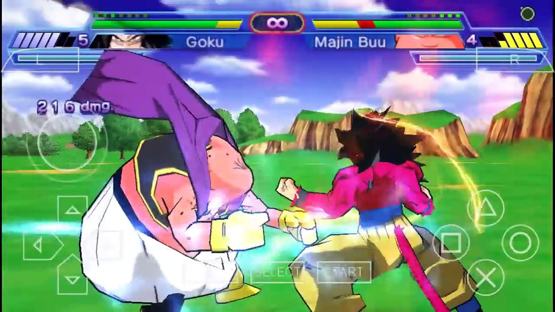 Dragon Ball Z Shin Budokai 2 Unlock All characters PSP Android