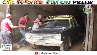 Car Service Station Prank By Nadir Ali Asim Sanata In P4 Pak