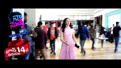 Naa Nuvve Movie Making _ Kalyan Ram _ Tamannaah - Movies Media