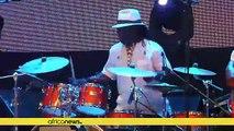 Cameroon's saxophonist Manu Dibango returns to Abidjan to celebrate music at 60