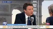 """Réforme des retraites: la pension de réversion """"fera l'objet de discussions"""", affirme Benjamin Griveaux"""