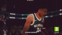 NBA 2K19 - Giannis Antetokounmpo sur la cover