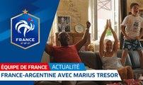 Equipe de France : France-Argentine avec Marius Trésor I FFF 2018