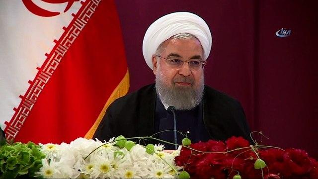 """İran'dan Abd'ye Petrol Tehdidi- Ruhani: """"eğer Yapabiliyorsanız İran Petrol İhracatını Engelleyin, Böylece Sonuçlarını Da Göreceksiniz'"""
