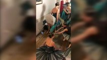 Coupe du Monde 2018 - Les danseuses du Bolchoï, supportrices de la Sbornaya