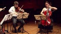 Chausson | Concert pour violon, piano et quatuor à cordes en ré majeur op. 21 (Grave)