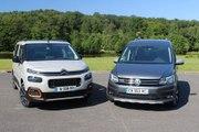 Comparatif : Citroën Berlingo vs Volkswagen Caddy