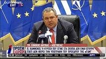 Π. Καμμένος: Εκλογές ή δημοψήφισμα, ή ψήφιση με 180 βουλευτές για τη συμφωνία των Πρεσπών