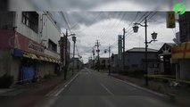 Ville fantome au Japon, abandonnée après la catastrophe nucléaire de Fukushima