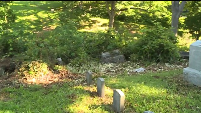 Vandals Target Iowa Cemetery by Tearing Down Headstones